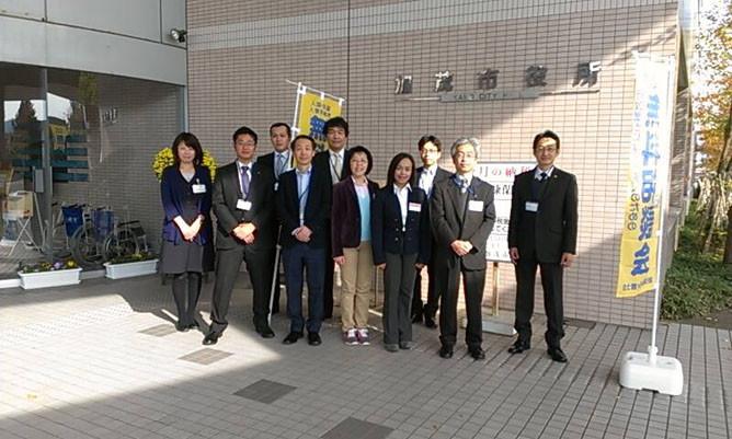 新潟県加茂市役所での外国人相談会に集結したビザ手続きのプロフェッショナル達