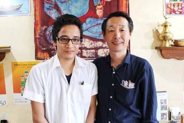 日本に帰化されたインド料理店の2代目さんと【新潟】