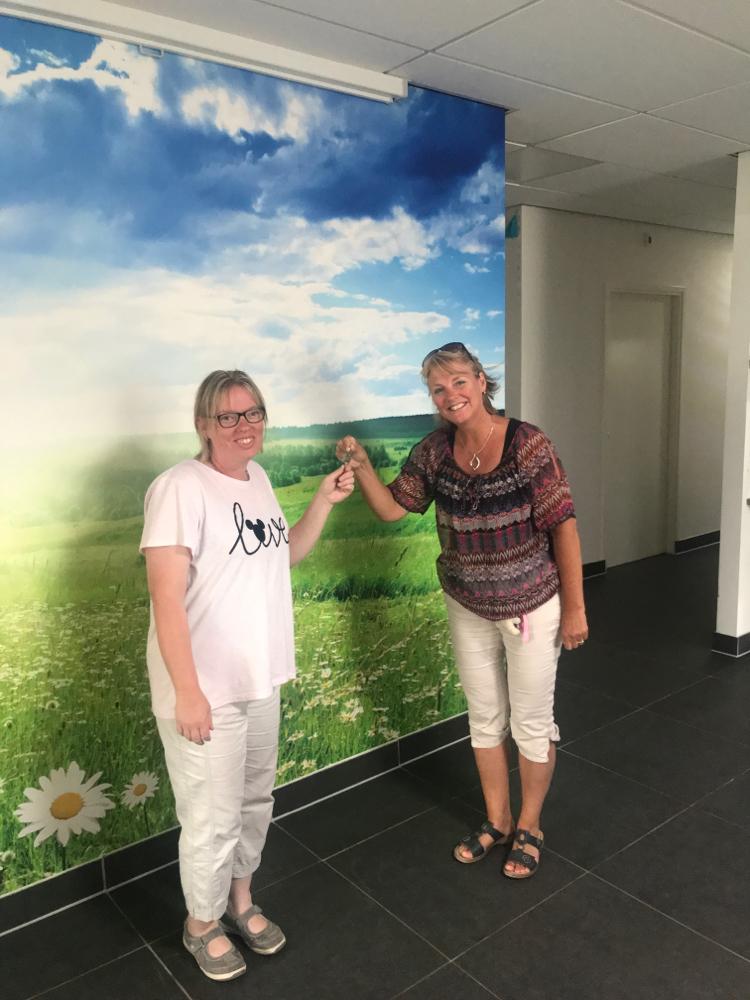 Sonja krijgt de Sleutel negende bewoonster juni 2020 😘