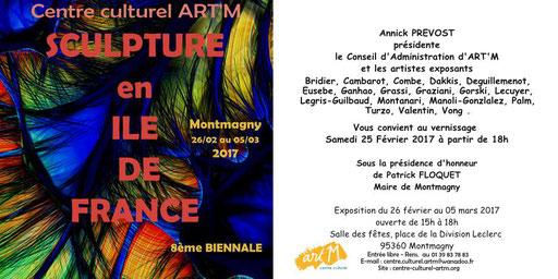 """2017 - """" Sculpture en île-de-France """"  art'm - Roman Gorski"""