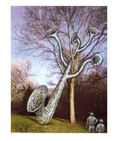 """Musique de l'arbre"", dessin - Roman Gorski"