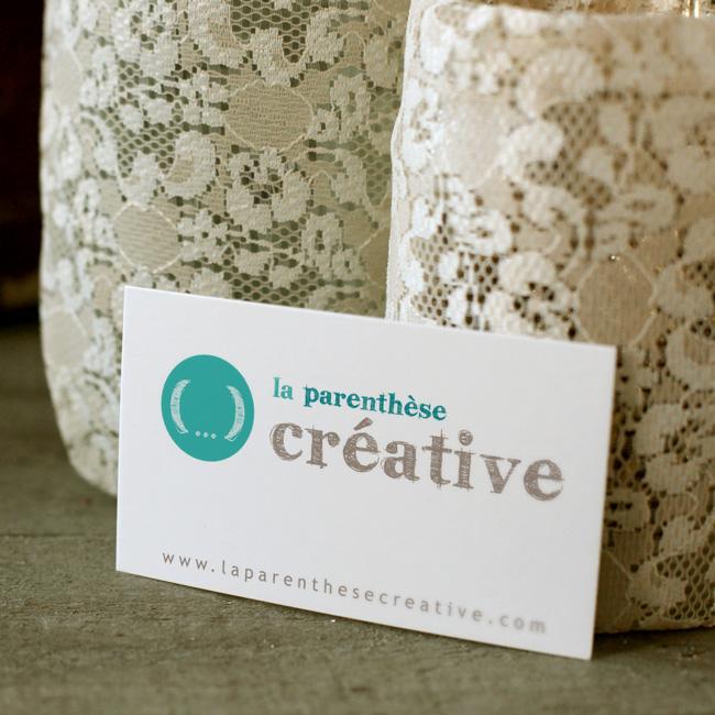 """Identité visuelle ateliers coaching """"la parenthèse créative"""""""