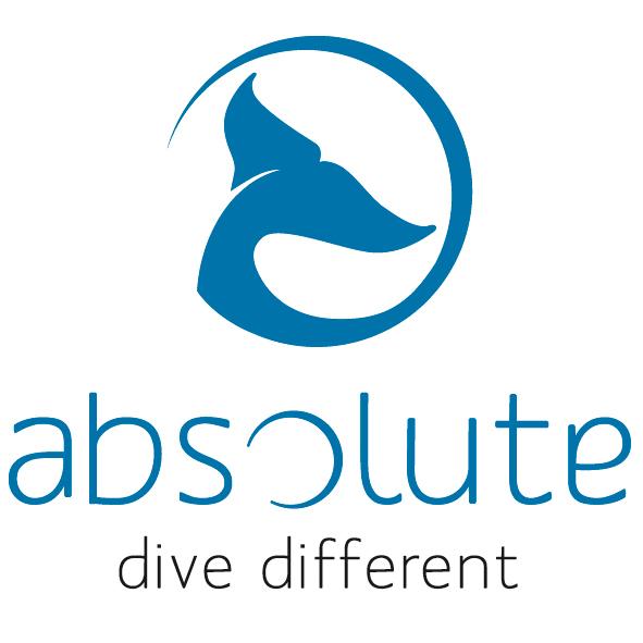 "Logo centre de plongée ""absolute"""