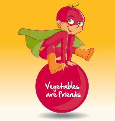 Illustration mascote - Ketchup