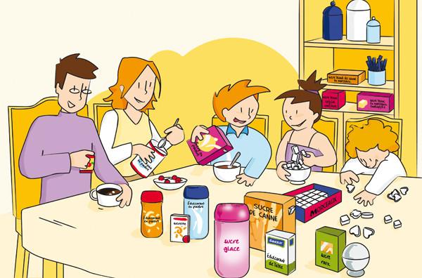 Illustration pour le groupe Intermarché - grande distribution