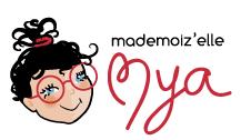 """Logo association """"Madmoiz'elle Mya"""""""