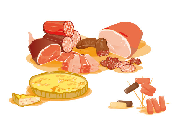 Illustration pour le groupe Intermarché - grande distribution - Intermarché - Agence Esprit2Com