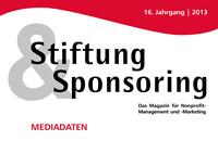 Stiftung & Sponsoring ist als die unabhängige Grantmaking-Zeitschrift in Deutschland ein anerkanntes Fachmagazin für Non-Profit-Management und -Marketing
