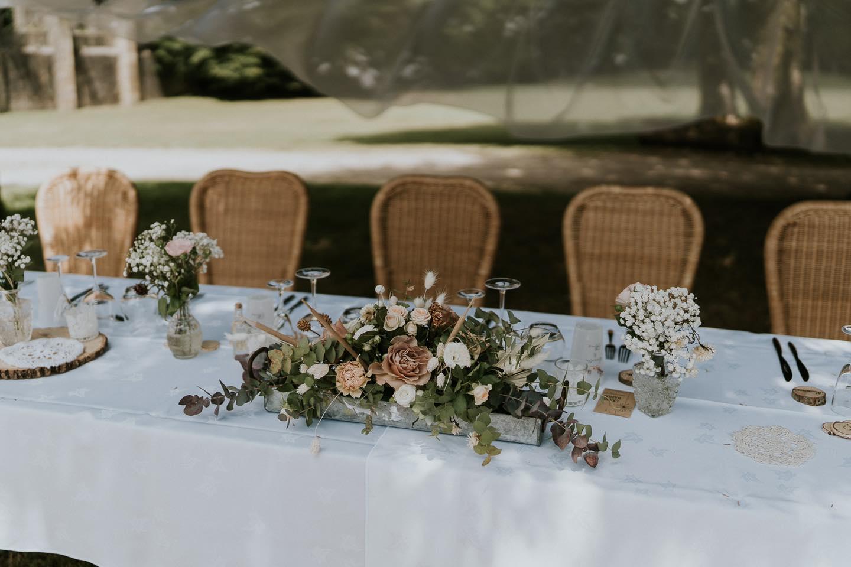 Artisan fleuriste décorateur mariage Marne. Creazoom Evenement