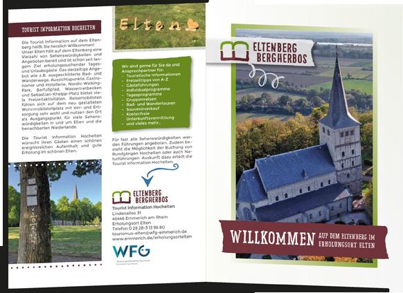 Broschüre der Wirtschaftsförderung Emmerich-Elfen zur Region Altenberg-Bergherbos