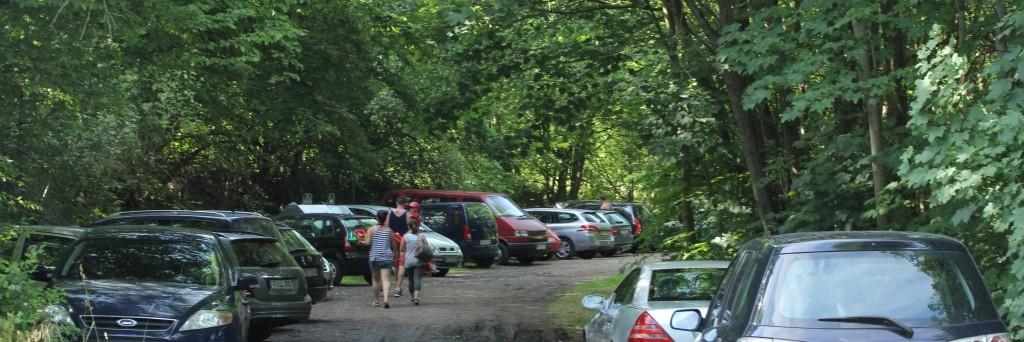Schattige Parkplätze inklusive