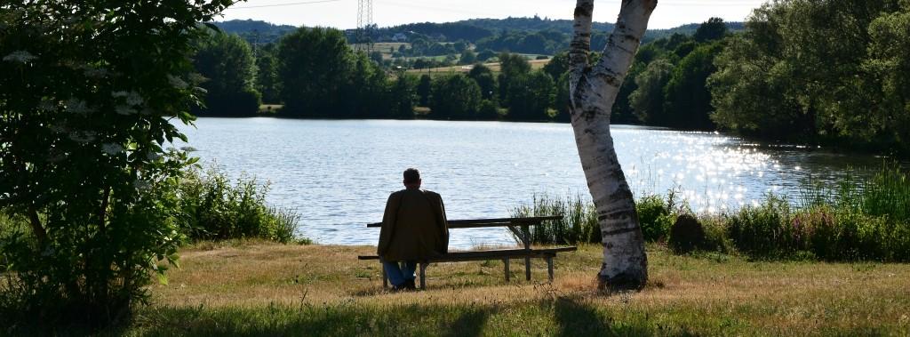 Den Abend genießen am Wißmarer See