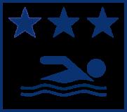 Aktuelle Einstufung der EU für die Badesaison 2019. Die Einstufung erfolgt über ein statistisches Verfahren, in das mindestens die letzten 16 Messwerte, i.d.R. aus den vorangegangenen 4 Jahren eingehen.