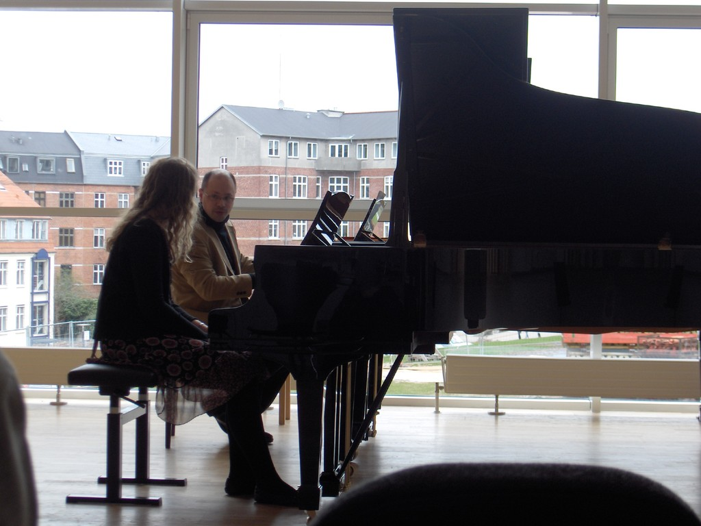 Masterclass Piano at the Roayal Academy of Music in Aarhus, Denmark, 2010 (Photo: privat)