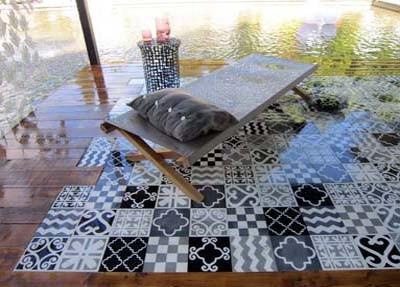 CAROCIM: Patchwork von Paola Navone, Salon de Provence 2013