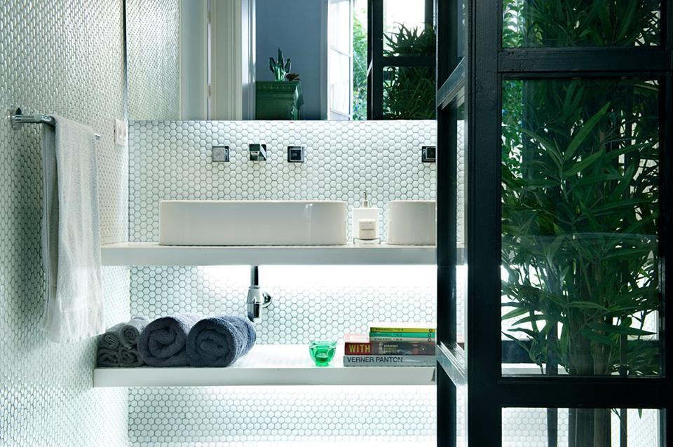 Glasmosaik, Hexagon 2,5x2,5 cm