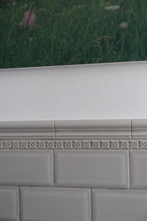 """Metrofliesen, Serie """"Neri"""" silver mist 7,5x15 cm"""