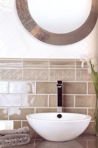 "Keramikfliesen: Serie ""Studio"", Farbton: Eucalyptus"