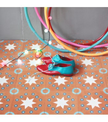 Wohnr ume southern tiles mediterrane wand und bodenfliesen for Petit pan carreaux ciment