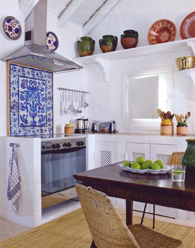 Küche mit Azulejos