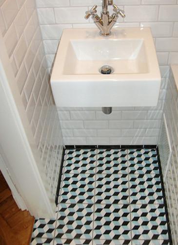 Badezimmer southern tiles mediterrane wand und bodenfliesen - Zementfliesen bad ...