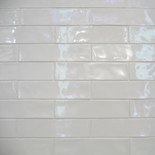 Alaska, 7,5x30 cm / Farbe: blanco