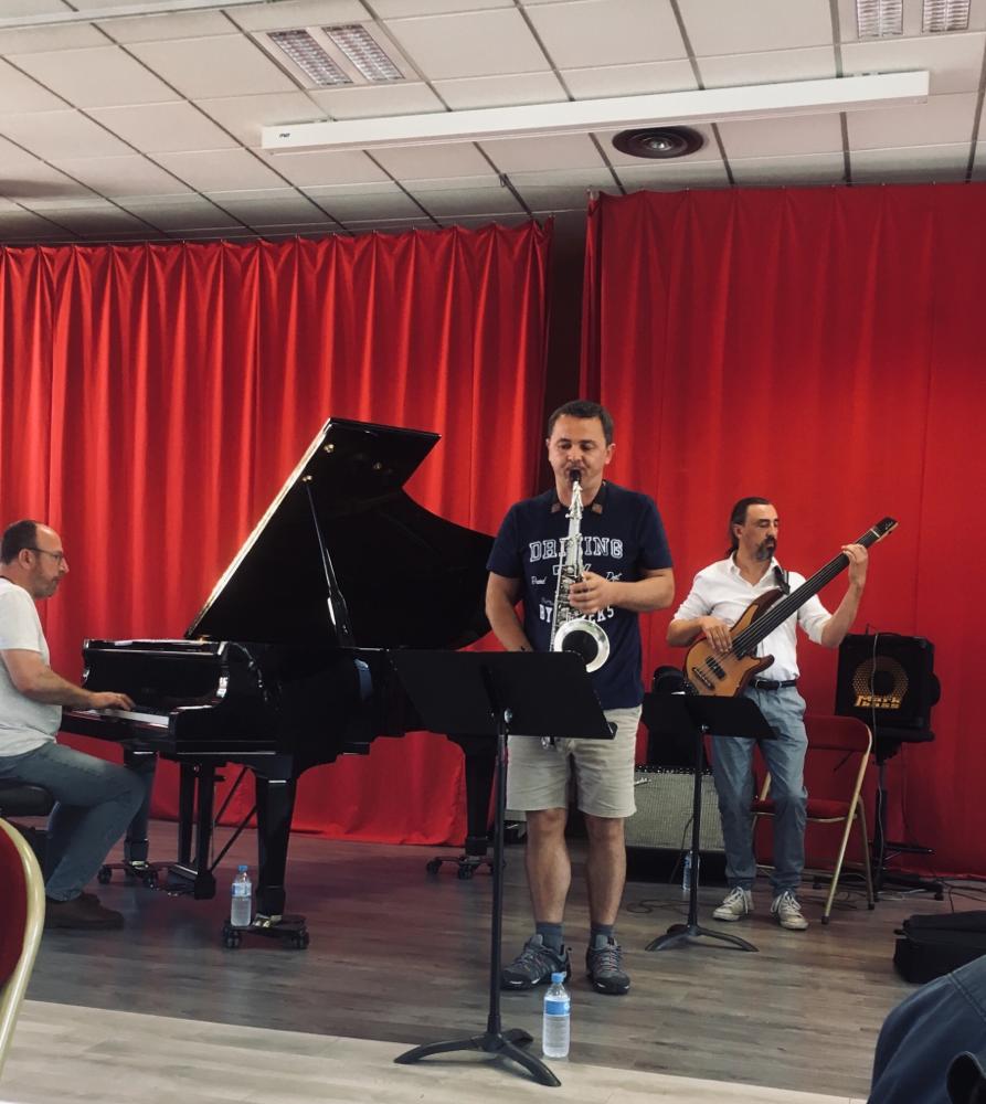 Les professeurs du département Jazz