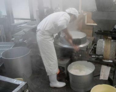先代から受け継がれた豆腐作り