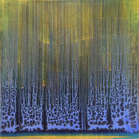 Rg, 2017, Acryl/LW, 100 x 100 cm