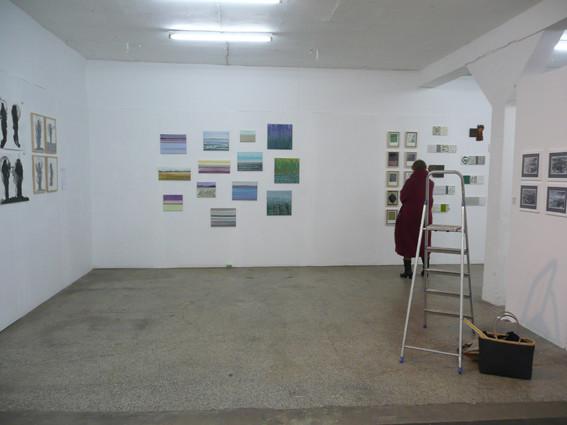 Ausstellungsansicht Walkmühle