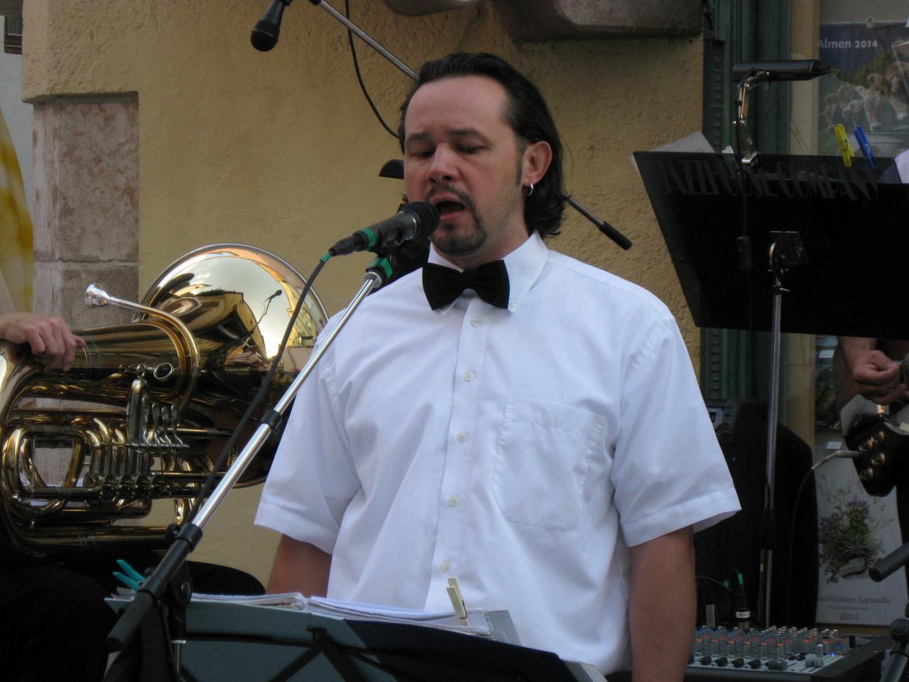 "Werner ""Brazil"" Prazeller: Vocals"