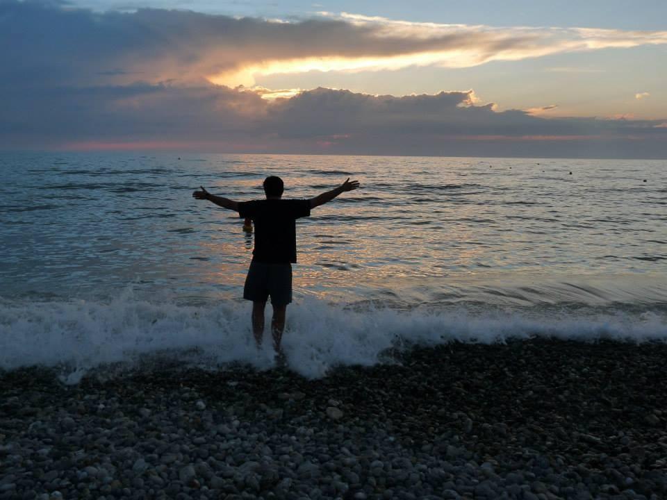 """La plage de Cayeux sur Mer; Un soir d""""été; Baie de Somme; vacances"""