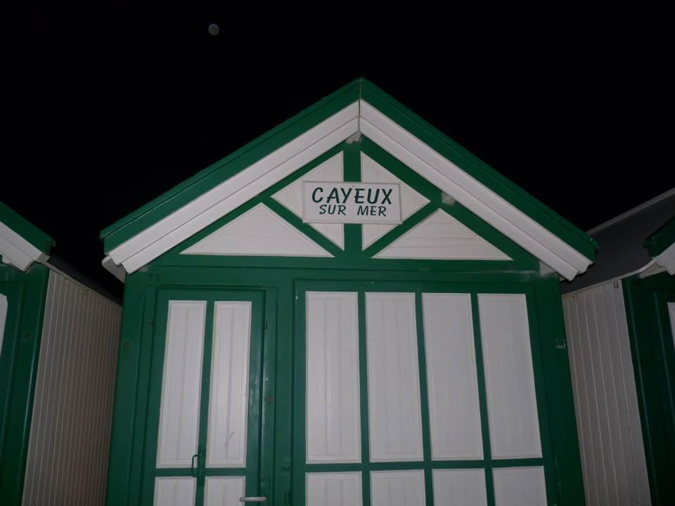 Cabine de plage; Cayeux sur mer; Baie de Somme