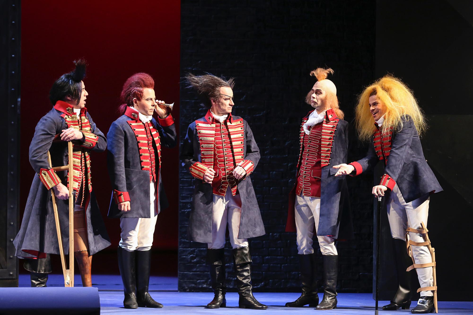 Der Bettelstudent - Volksoper Wien © Barbara Pálffy (Regie Anatol Preissler)