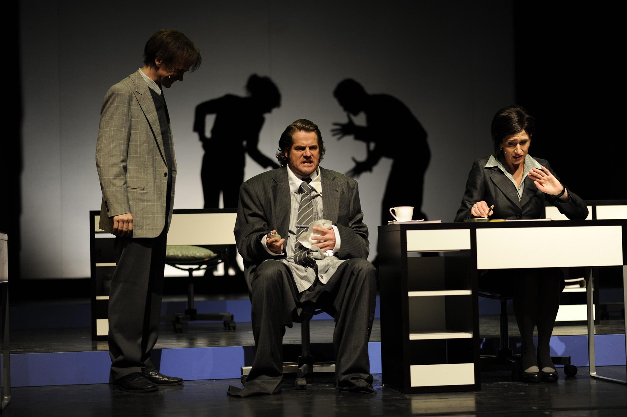 Bandscheibenvorfall - Theater Trier (Regie Anatol Preissler)