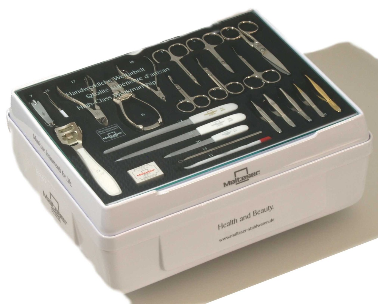 Malteser M 5023 Verkaufskassette mit Zahlteller/Tableau und 2 Lagerschubladen
