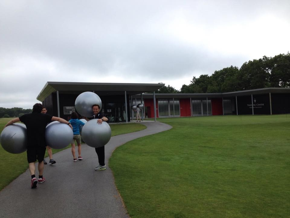 training center golf du Médoc, présentation école du dos AFKG mai 2015