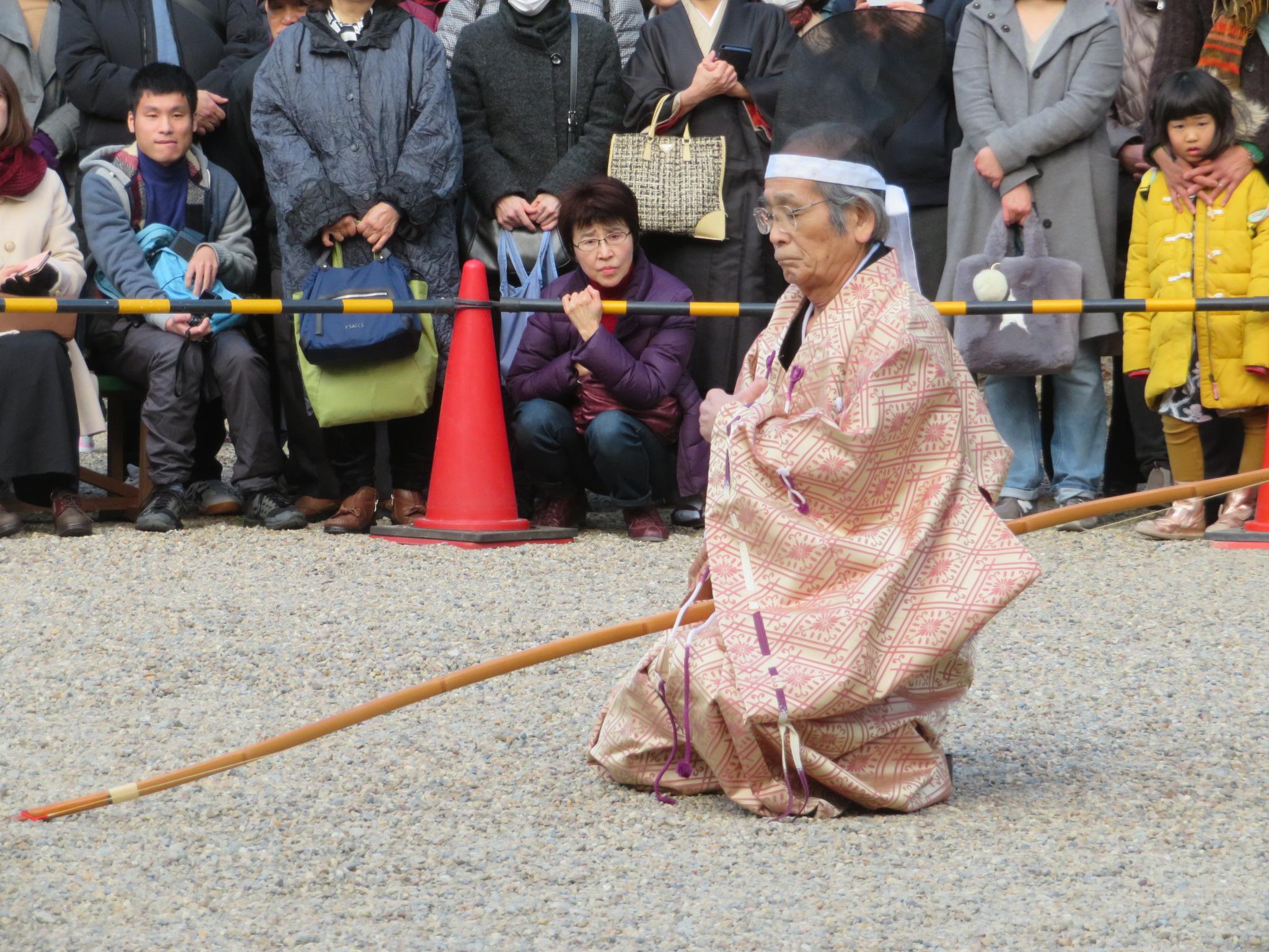 兵庫県弓道連盟の林会長