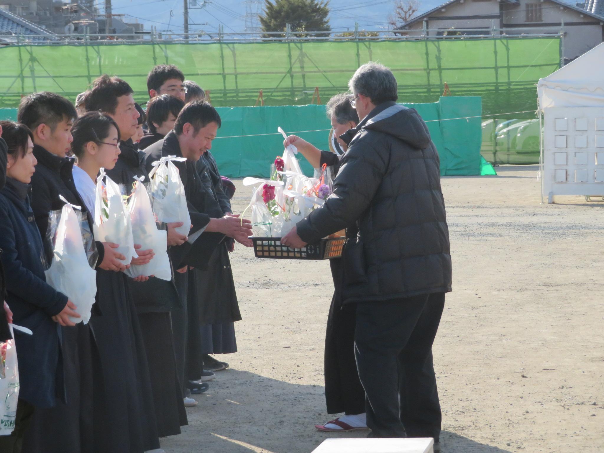 正鵠賞 大西コーチ