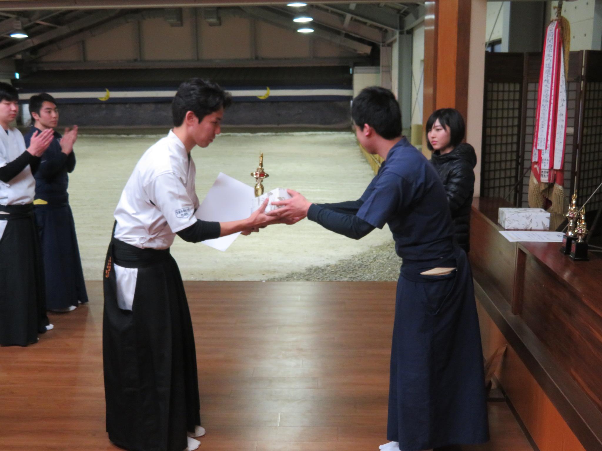 個人優勝 京都外国語大学 宮西選手