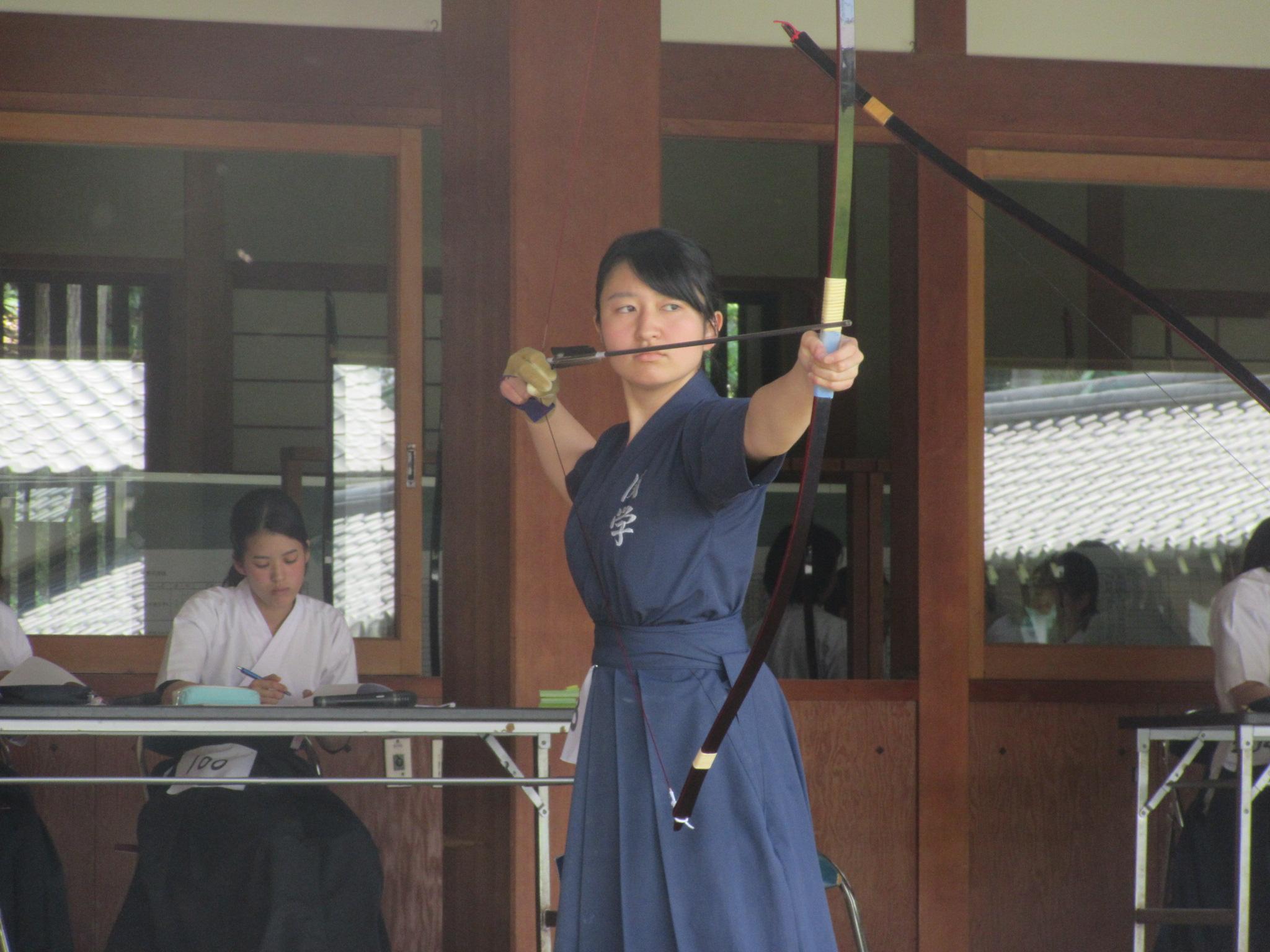 岡田那(2)個人5位 団体優勝