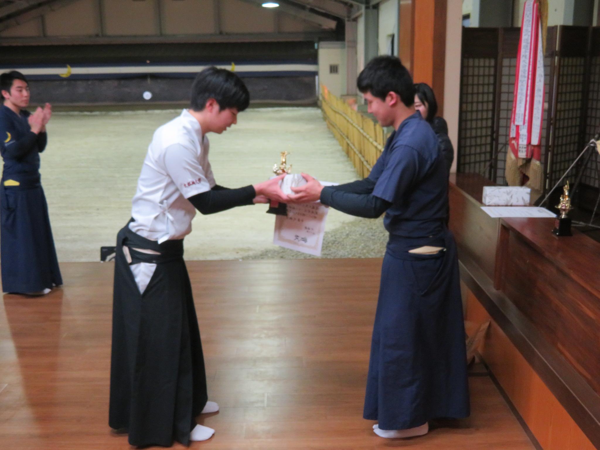 個人2位 京都橘大学 中田選手