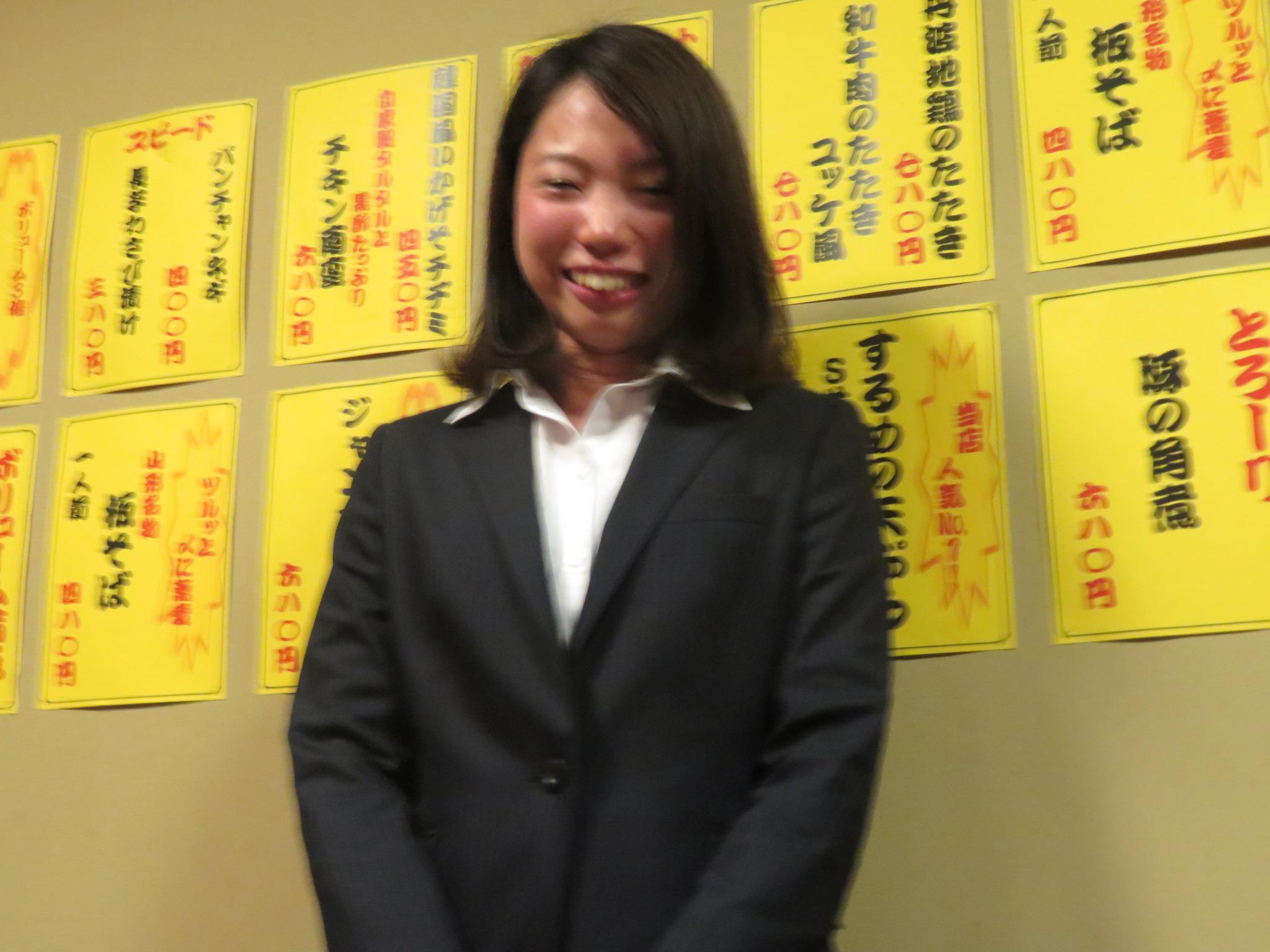 東田さん(ピンぼけでごめん)