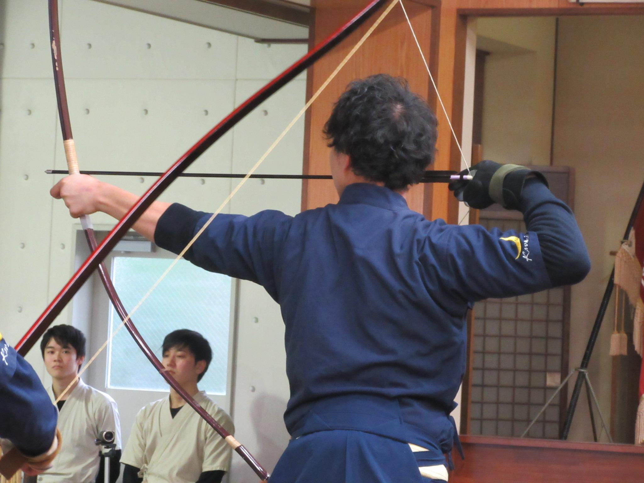 二的 矢野遼(1)3度目の試合20射皆中!