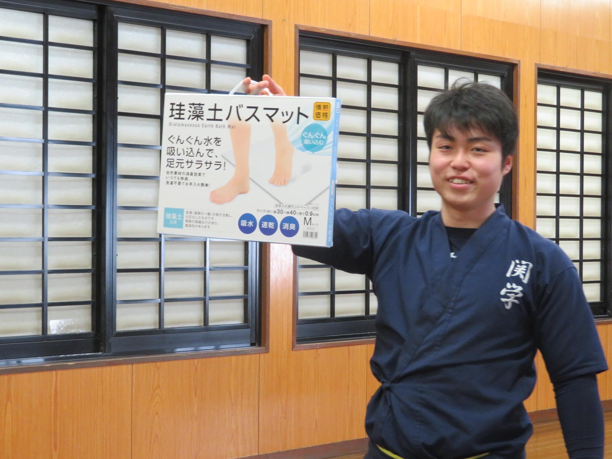 合宿的中率表彰 染田(新3年)