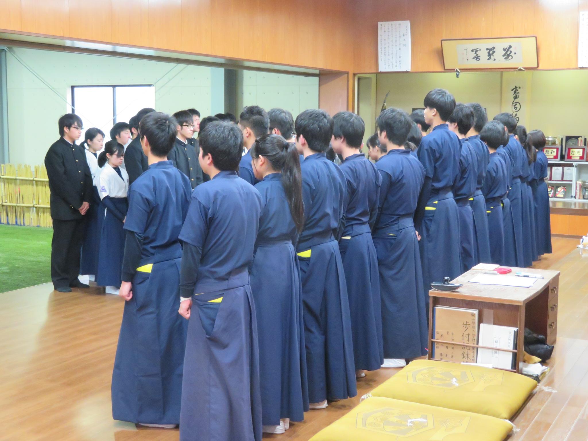 関西大学新人戦練習試合