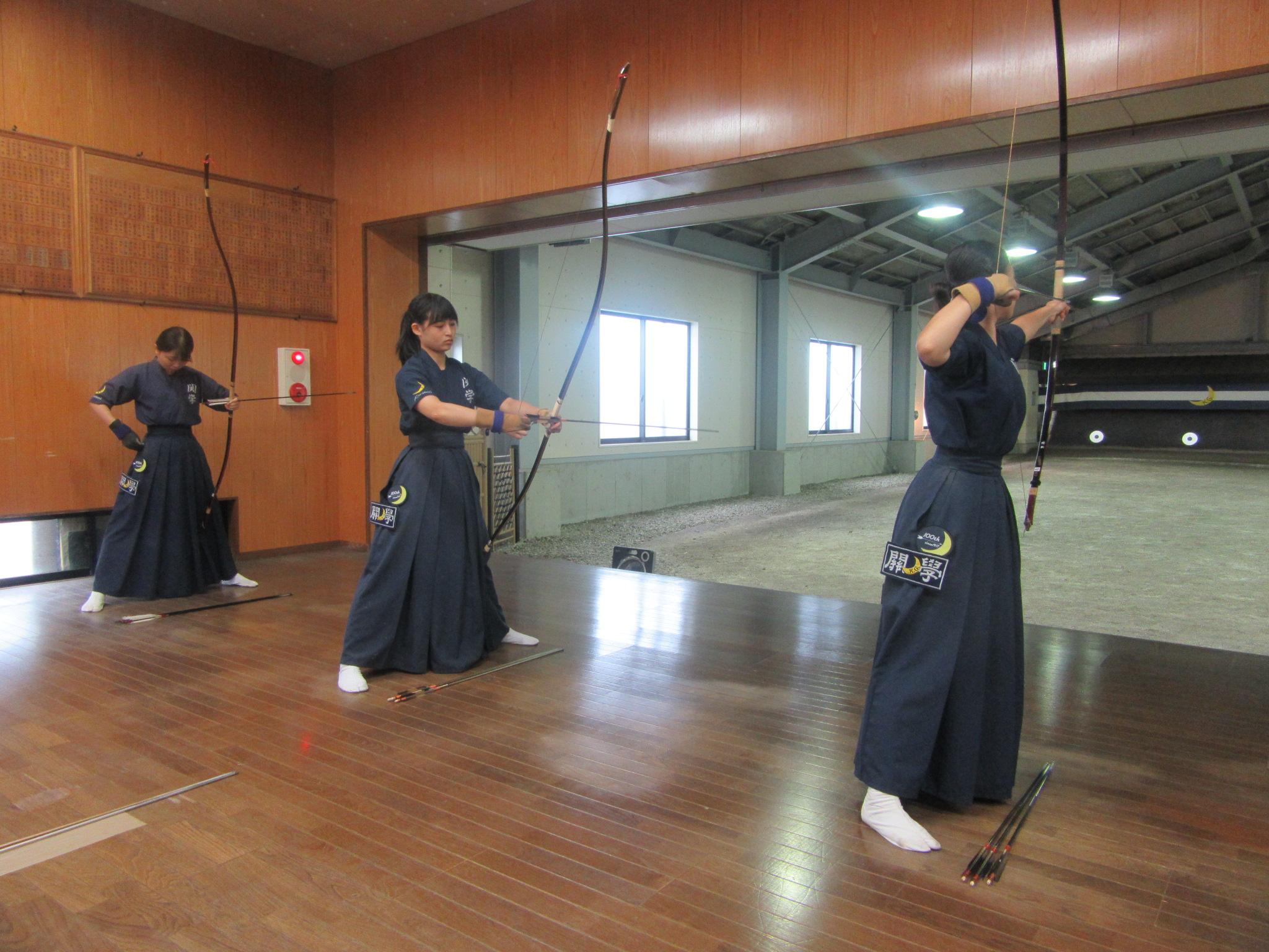 Bチーム 岡田真(2) 高谷(1) 石川(3)