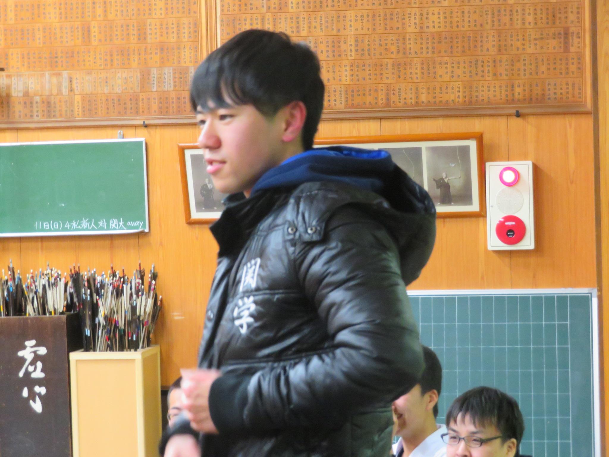 ボケをかます川原田(2)