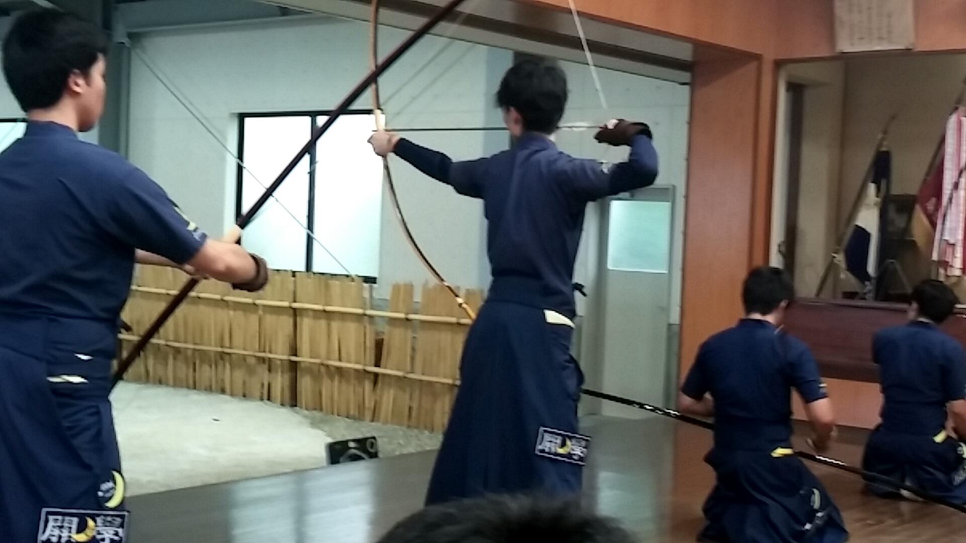 前立落前 交代 古田(1)6中/8射
