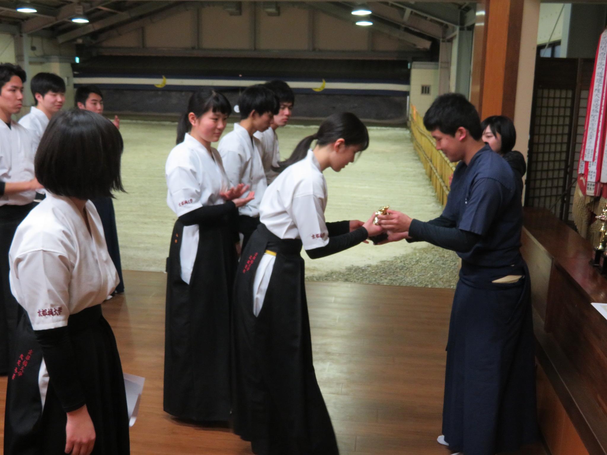団体3位 京都橘大学